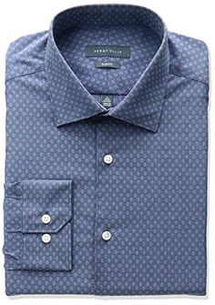 Perry Ellis Collection Men's Slim Fit Diamond Dobby Non-Iron Dress Shirt     #ForHim #ForHer #Holidays #GiftIdeas #Gifts #Affiliate