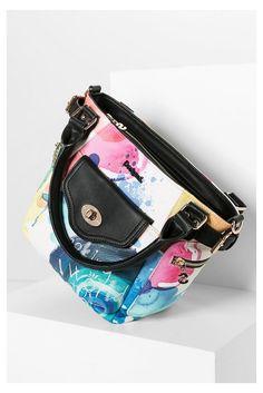 Tasche aus buntem Kunstleder | Desigual.com G