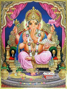 Lord Ganesha Hindu God Pictures