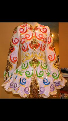 Irish Dance Solo Dress Costume by Michelle Lewis