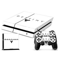 PS4-Playstation-4-Console-Skin-Decal-Sicker-Destiny-2-Controller-Skins-Set
