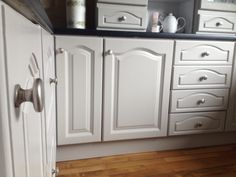 Hand painted kitchen renovation Furniture, Wooden Kitchen, Kitchen Restoration, Bespoke Kitchens, Home Decor, New Kitchen, Renovations, Kitchen Renovation, Kitchen Paint