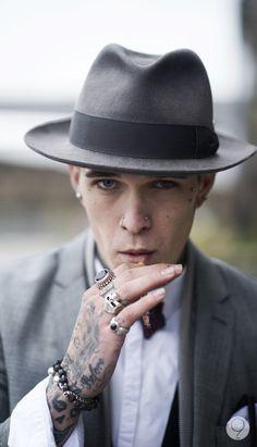 Jimmy Q #rings #skull #tattoo