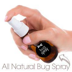 DIY All Natural Bug Spray Recipe