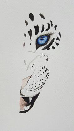 Watercolor Leopard sale. Contact at soniashorizons@gmail.com