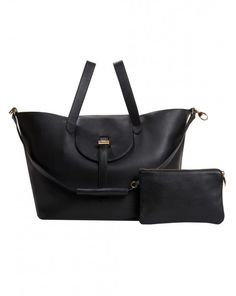 Meli Melo Black Thela Large Classic Bag