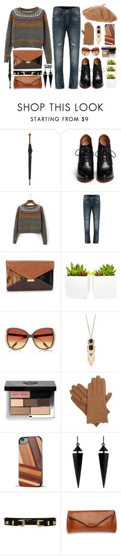 """""""YOINS  #  57"""" by yoinscollection ❤ liked on Polyvore featuring Alexander McQueen, Givenchy, Shop Succulents, Bobbi Brown Cosmetics, Isotoner, Recover and Oasis"""