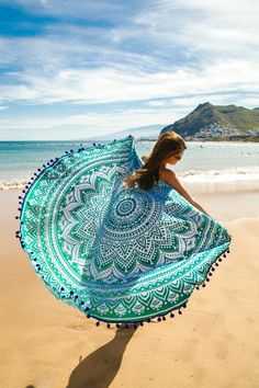 #Mandala  #Roundtowel #ToallaRedonda #Toalla #Towel #goodvibes #Sea #VitaminSea #Bohostyle #Bohobeach #Ocean #Summer #verano #TooTats