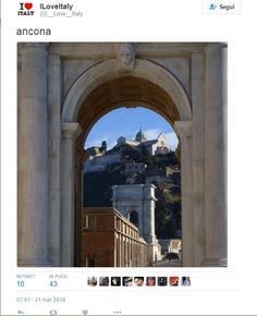 My photo of Ancona on Twitter message https://twitter.com/I__Love__Italy/status/711915655314989056