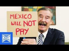 Another Message for Donald Trump from Former Mexican President Vicente Fox - YouTube