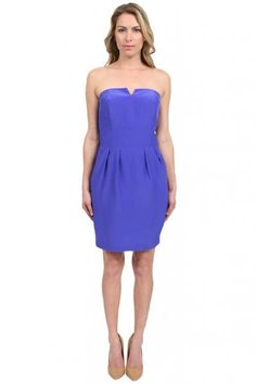 Amanda Uprichard Harper Dress in Royal  available at #Loehmanns