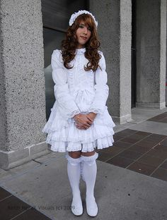lights and cameras 2 - brolita-a boy Lolita Tokyo Fashion, Harajuku Fashion, Lolita Fashion, Brolita, Feminized Boys, Lolita Dress, Little Girl Dresses, Girly Outfits, Pretty Dresses