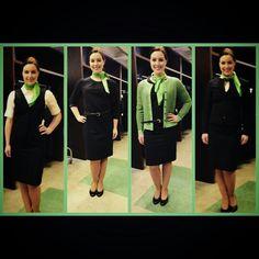 Transavia Stewardess new uniform @brittjeeee_