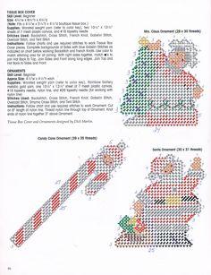 Santa Tissue Box Cover & Ornaments Pg. 2/3