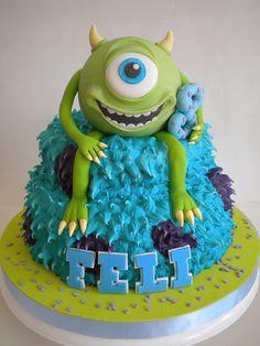 Torta Monsters Inc   Flickr: Intercambio de fotos