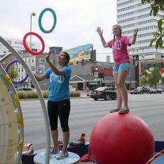 Circus Mojo at #Cincinnati Park[ing] Day 2012 by #5chw4r7z, via Flickr