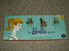 The Barbie Game - QUEEN OF THE PROM - 35th Anniversary Edition (1994) Barbie Games, 35th Anniversary, Vintage Barbie Dolls, Vintage Accessories, Prom, 1960s, Buildings, Queen, Friends
