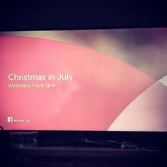 What the hell? Christmas..... in July? #WorldgGoneMad