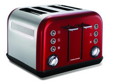 Red Accents Toaster  http://www.morphyrichards.co.za/products/4-slice-1800w-metallic-red-accents-toaster-242004