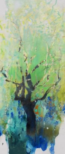 New Growth, painting by artist Randall David Tipton