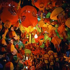 The Mid-Autumn festival, also known as Trung Thu, celebrated by the people of China and Vietnam. www.urbanrambles.com