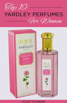 Yardley is a famous UK brand known for its #perfumes which have a subtle hint of feminity. Here are my top 10 Yardley perfumes for women.