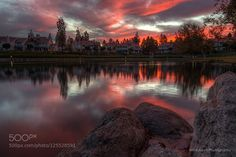 Red Sky by mickboy64s. Please Like http://fb.me/go4photos and Follow @go4fotos Thank You. :-)