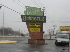 Bridges Barbecue Lodge, Shelby NC-  After dining there, I can definitely see why Bridges Barbecue Lodge is on the NC BBQ Society's Historical BBQ Trail.