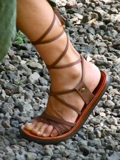 Gladiator Women's Sandals Custom Men's Sandals by SoulPathShoes