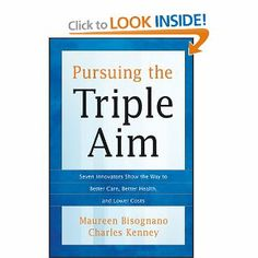 Written by the President and CEO of the Institute for Healthcare Improvement (IHI) and a leading health care journalist, this groundbreaking book examines how leading organizations in the United States are pursuing the Triple Aim—improving the individual experience of care, improving the health of populations, and reducing the per capita cost of care.