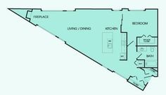 Triangle House Plans | House plans | Pinterest | Triangle house ...