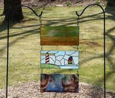 stained glass in the garden - Google Search