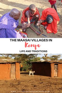 Maasai Mara villages Kenya