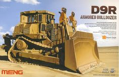 Armour Modelling: Meng's D9R Armored Bulldozer