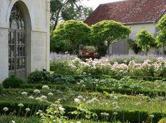 French Chateau garden