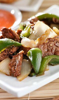 Slow Cooker Pepper Steak Recipe