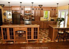 1000 images about cuisine rustique on pinterest armoire for Armoire de cuisine rustique