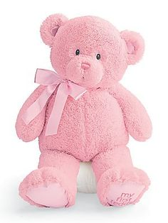 Enesco 21031 My First Teddy Ours Extra Grand Rose Polyester 61 cm