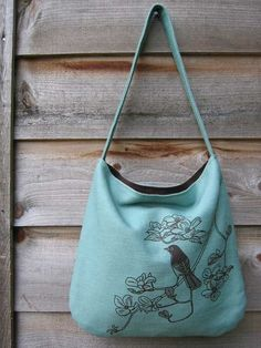 Songbird pattern bag