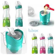 In a hurry? Use this b.box bottle for a quick and easy feeding..all BPA Free