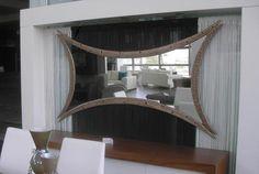 Χειροποίητη δημιουργία μου σε ξύλο-υπάρχει δυνατότητα διαφοροποιήσεων. Curtains, Mirror, Furniture, Home Decor, Blinds, Decoration Home, Room Decor, Mirrors, Home Furnishings