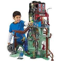 Teenage Mutant Ninja Turtles Secret Sewer Lair Play Set