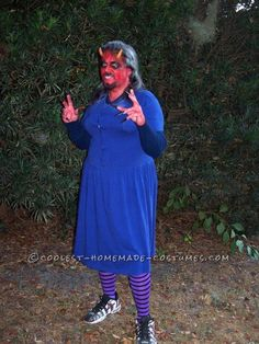 Devil in blue dress costume  Halloween  Pinterest  Costumes ...