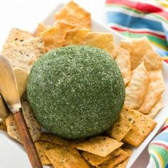 Dill Green Onion Cheese Ball. Creamy, tangy, irresistible flavors make this easy gluten-free appetizer recipe perfect for entertaining or snacking! - BoulderLocavore.com