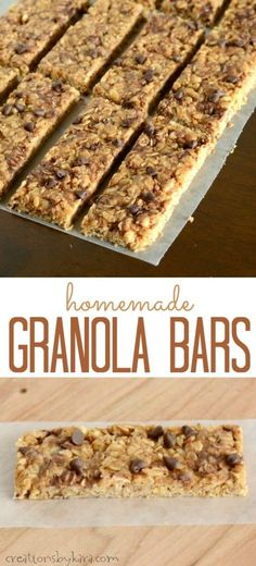 My kids declared this recipe for homemade granola bars even better than the ones…