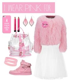 """""""Untitled #9"""" by elenaroden ❤ liked on Polyvore featuring Ballet Beautiful, Charlotte Simone, Moschino, Ashley Stewart, Casetify, Bobbi Brown Cosmetics and IWearPinkFor"""