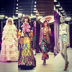 From florals ruffles and bows to glittering mesh and embellishments Gucci's FW17 collection was an abundance mix of everything wonderful in one collection. Everylook is different. #gucci @gucci #MFW  via MARIE CLAIRE MALAYSIA MAGAZINE OFFICIAL INSTAGRAM - Celebrity  Fashion  Haute Couture  Advertising  Culture  Beauty  Editorial Photography  Magazine Covers  Supermodels  Runway Models