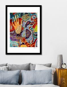 Discover «Hand of time», Limited Edition Fine Art Print by sue lamarr - From $29 - Curioos