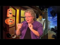ASL Lesson - A to Z Halloween Story: Three Takes