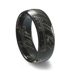 Star Wars Imperial Crest Silver Black Tungsten Ring Rings And
